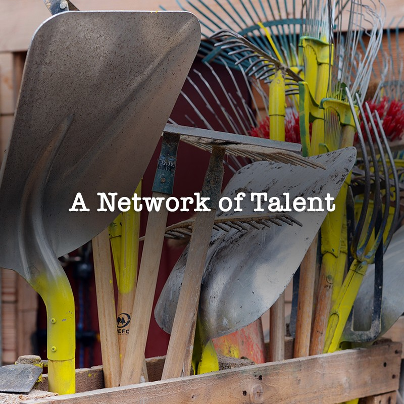 Network of talented creatives